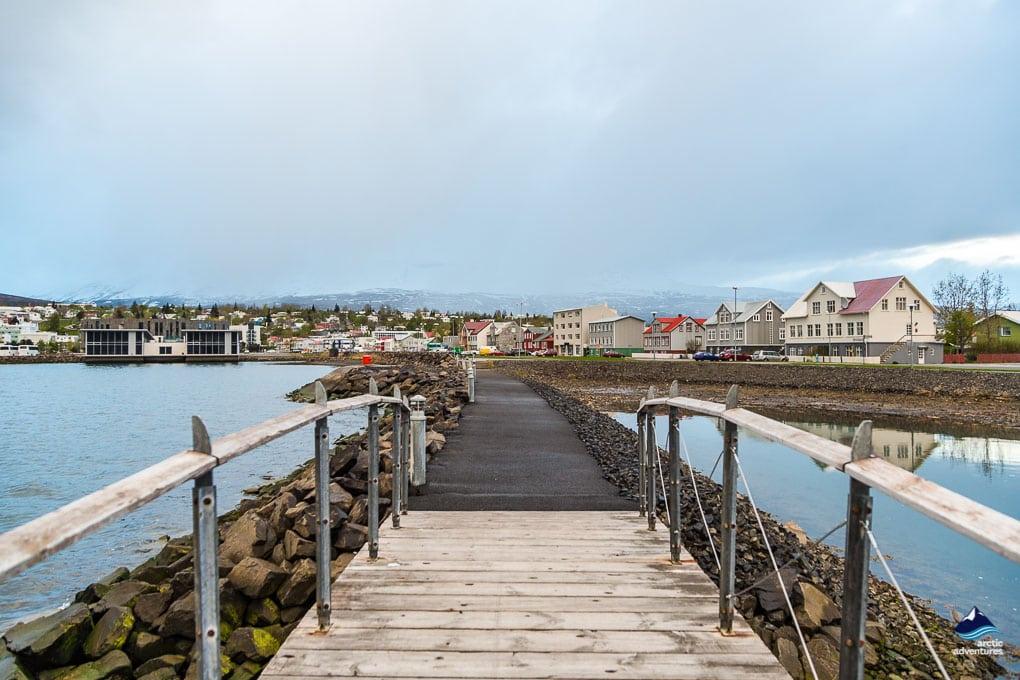 Bridge at Akureyri