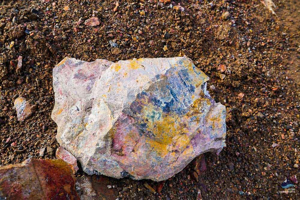 Rocks in Landmannalaugar