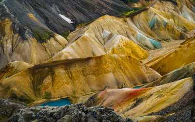 Landmannalaugar trek in Iceland