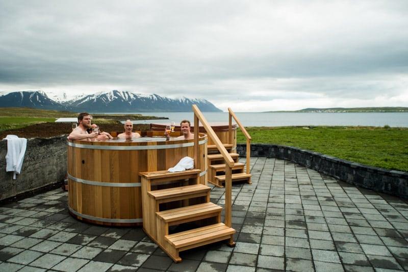 Beer Bath Iceland