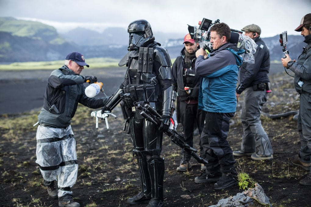 Star Wars filming in Iceland