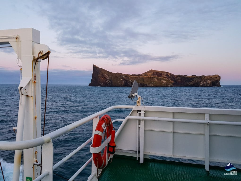Sailing to Westman Islands