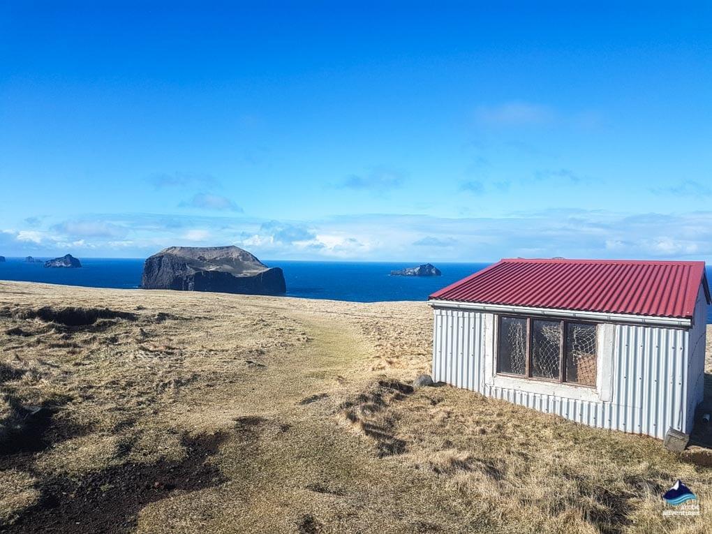 view over Vestmannaeyjar