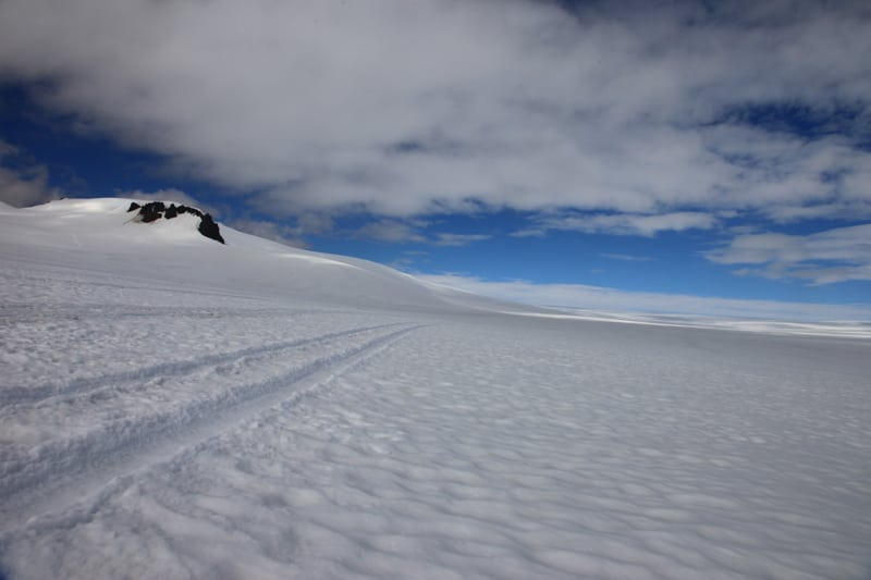 Vatnajokull glacier views
