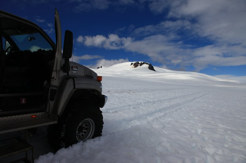 Vatnajokull glacier Super Jeep Tour