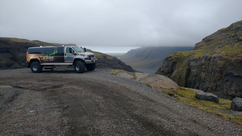 View over Vatnajokull