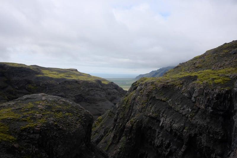 mountain near Vatnajokull