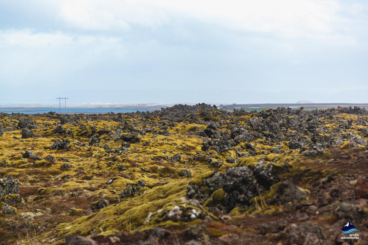 Bersekjahraun Snaefellsnes peninsula