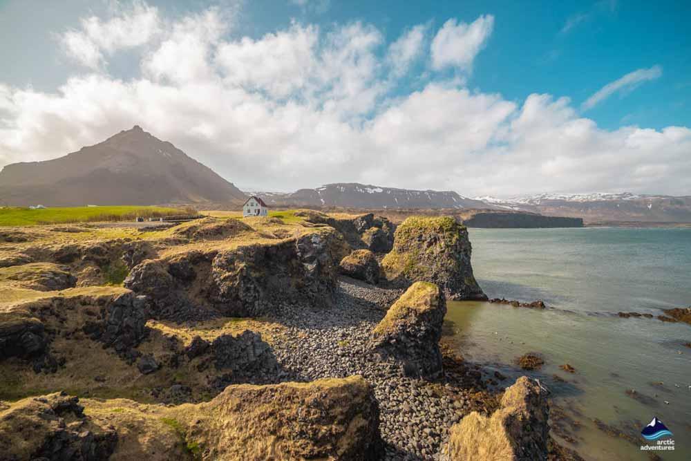 Arnarstapi Snaefellsnes Peninsula