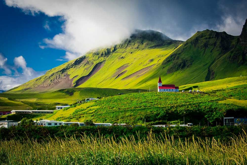 Vík Village in South Iceland