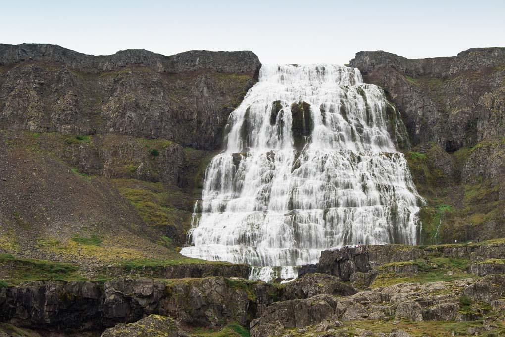 Dynjandi Waterfall Iceland
