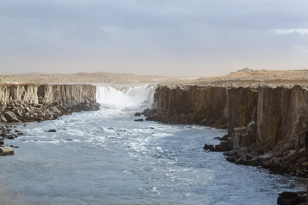 Selfoss Waterfall North Iceland
