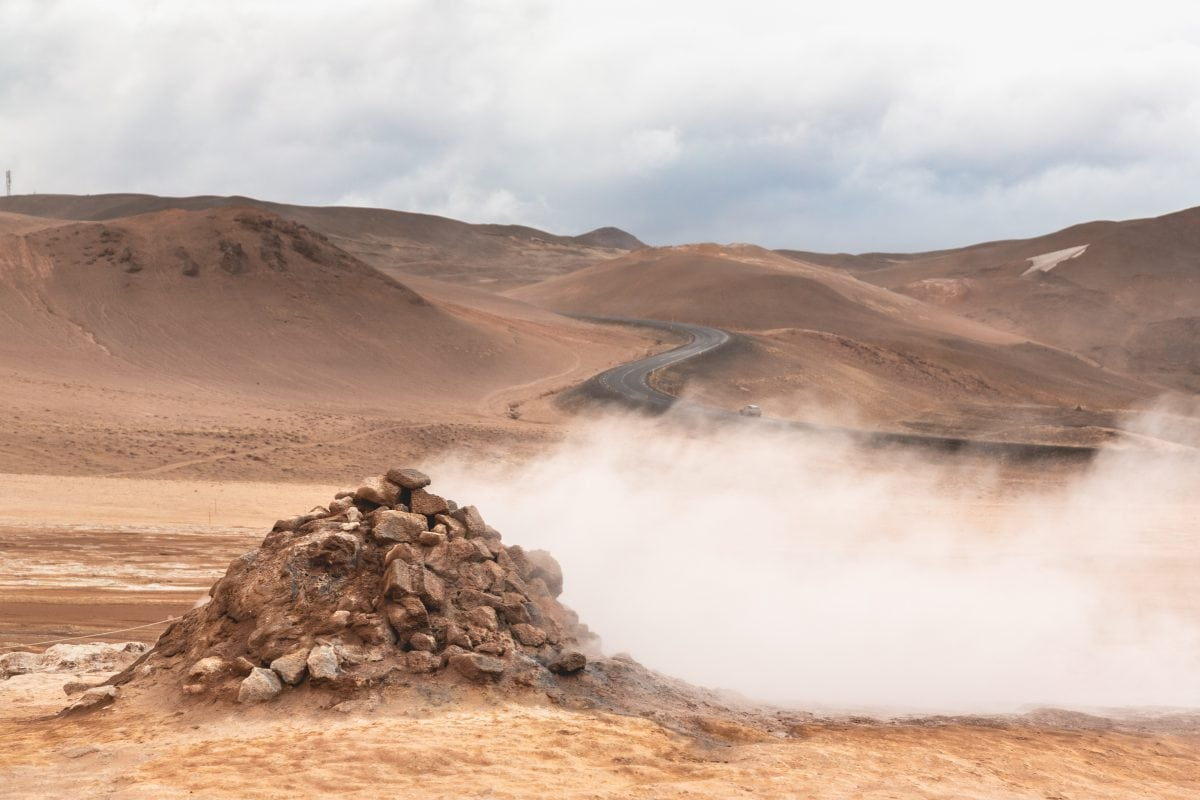 Namaskard Geothermal Area