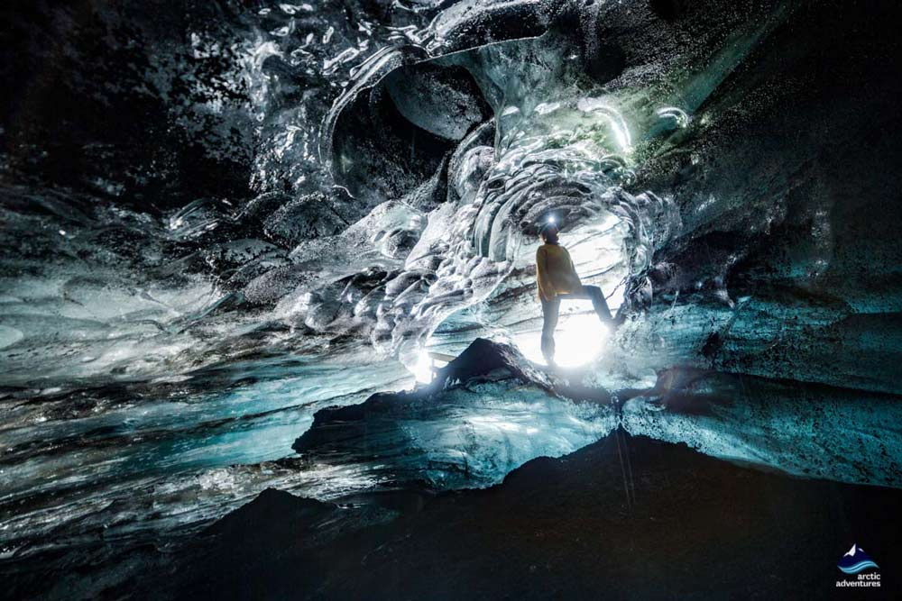 Blue Ice Cave South Coast Iceland