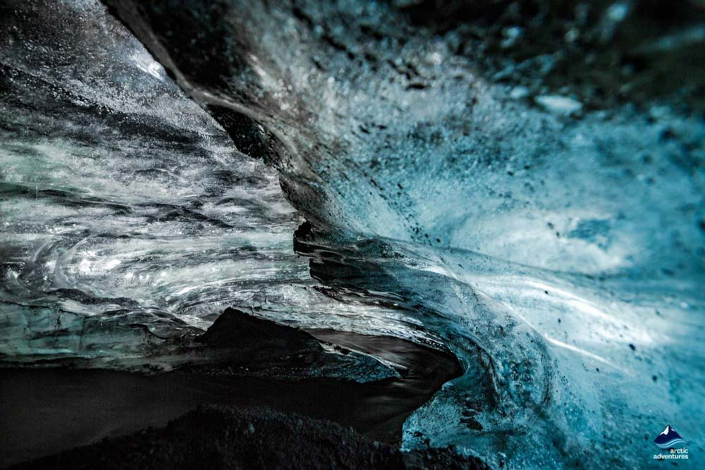 Ice Cave from Vík