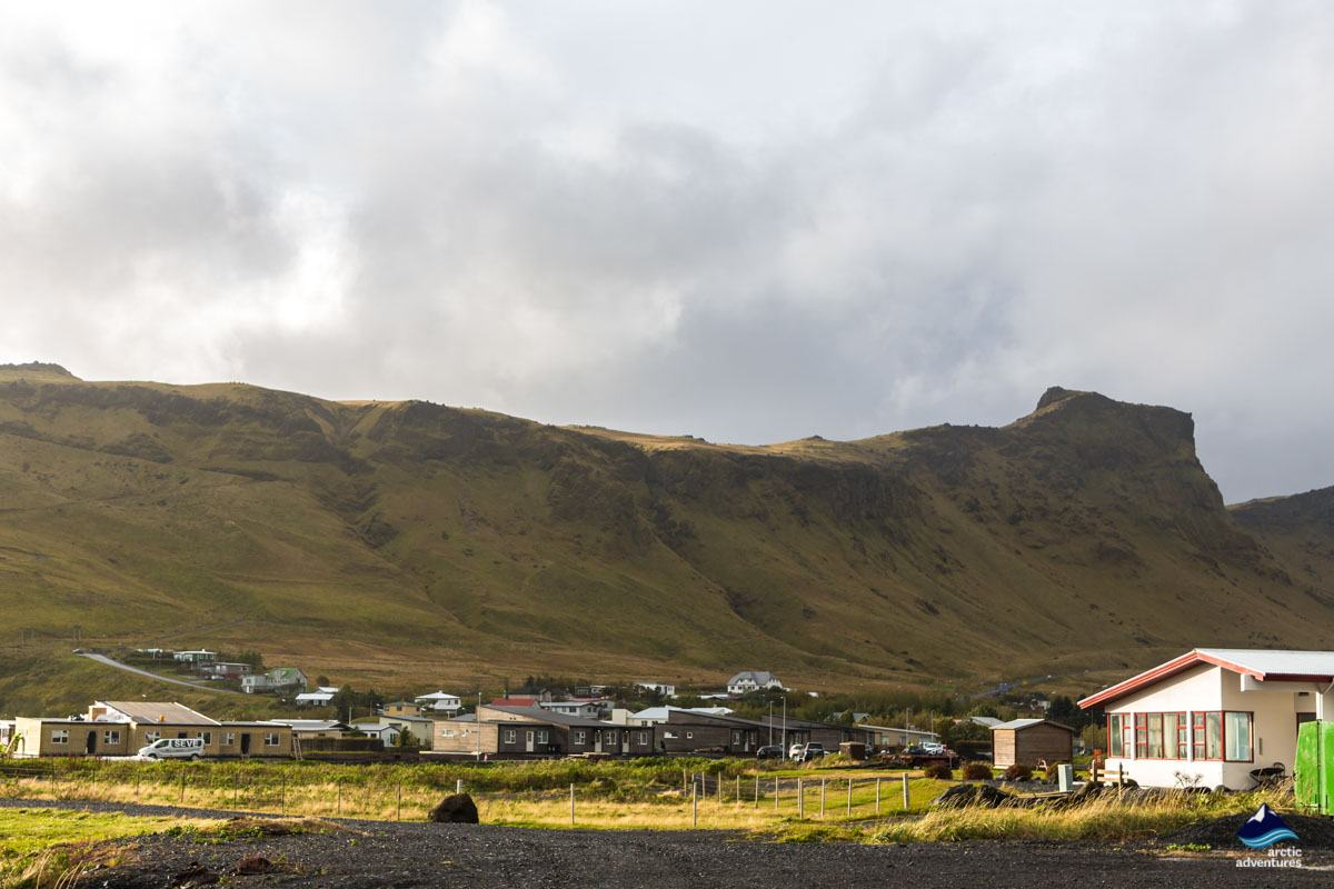 Vík town on South Coast Iceland