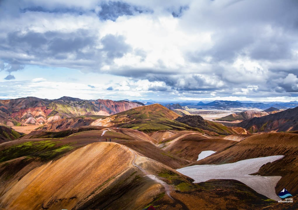 Laugavegur Iceland mountains Views