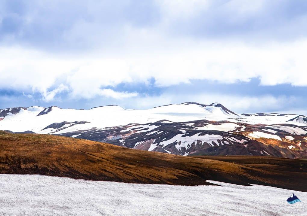 Laugavegur Iceland mountains Views