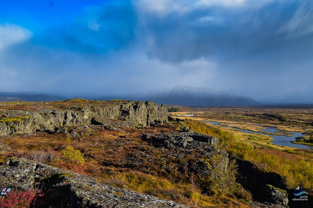 Overview of Thingvellir National Park