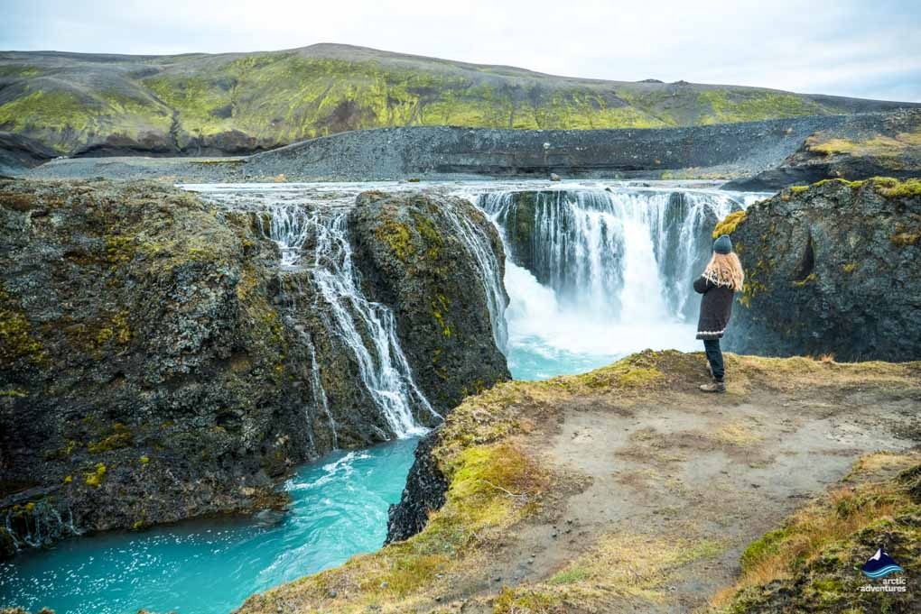 Sigoldufoss Waterfall Iceland