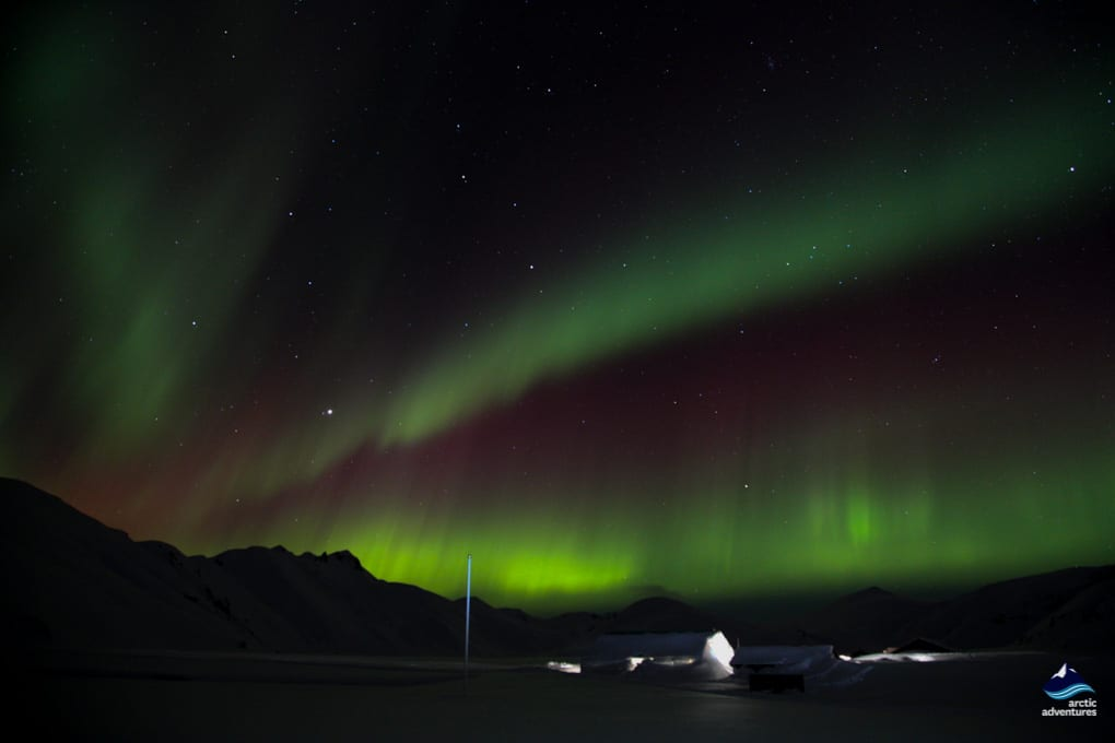Landmannalaugar Iceland in winter