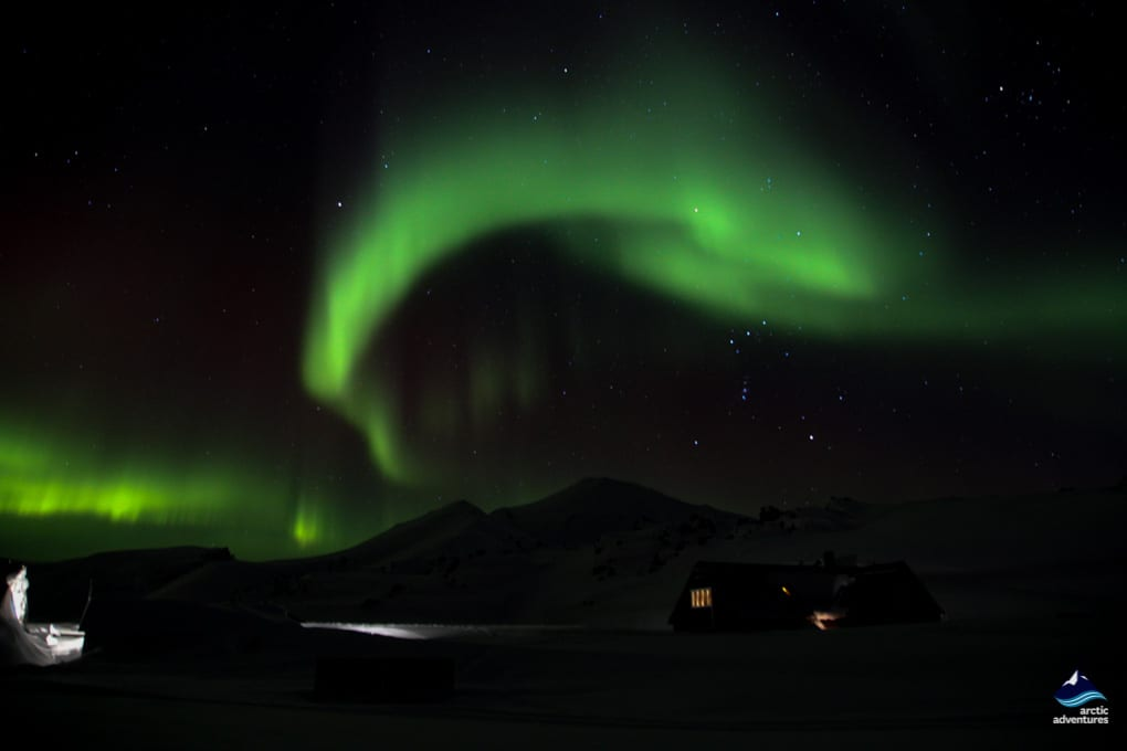 Northern Lights in Landmannalaugar