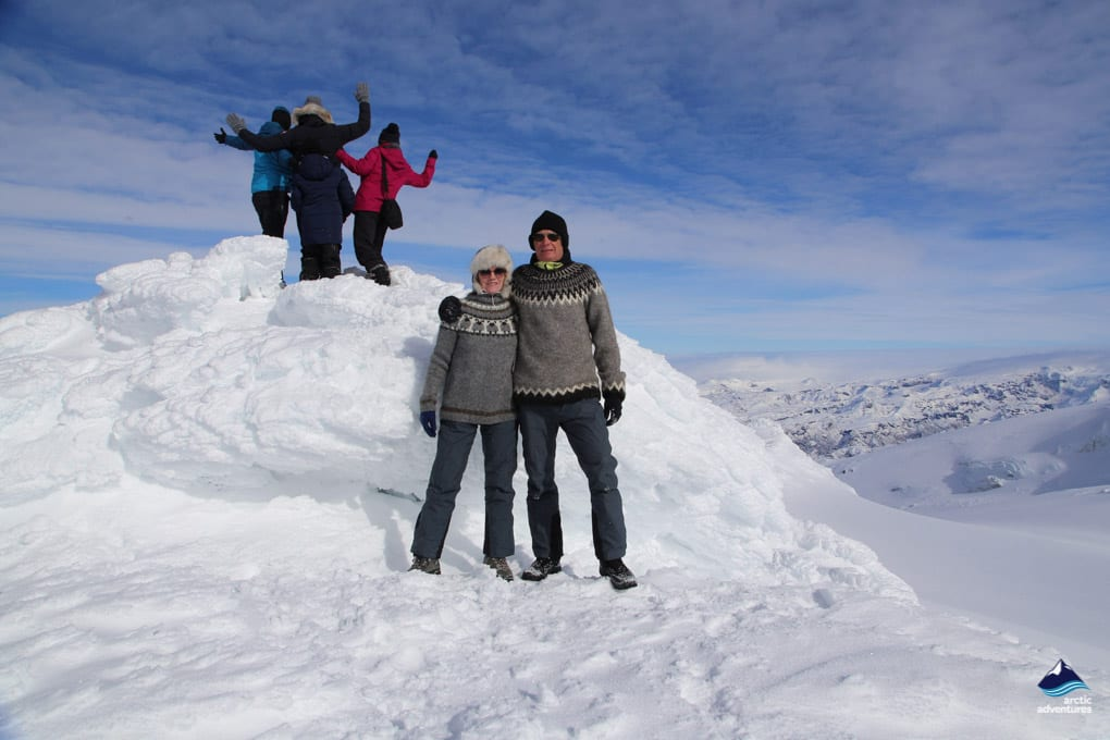 Winter Travelers in Iceland