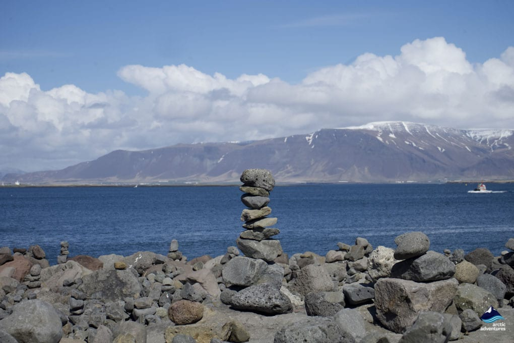 View of Esja from Solfarid Sun Voyager