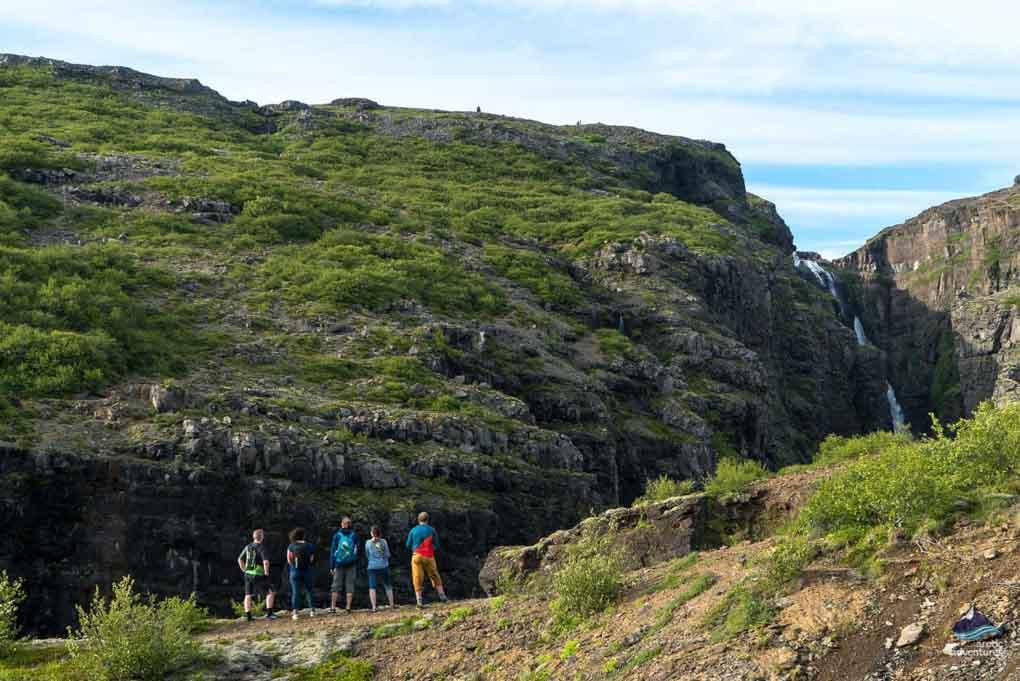 Glymur in Hvalfjordur