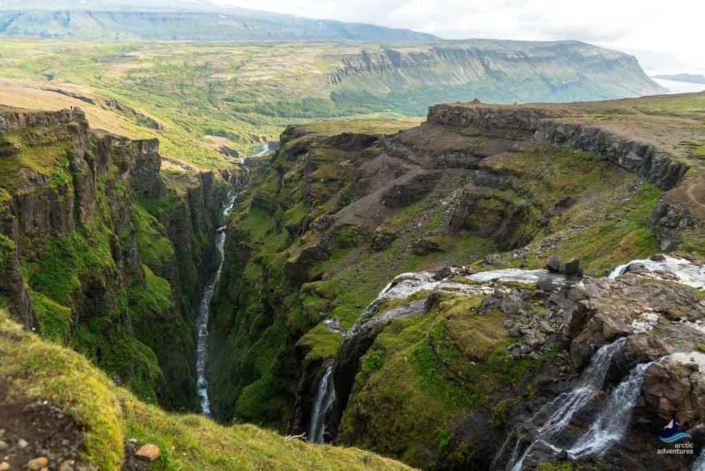 Glymur Waterfall Iceland