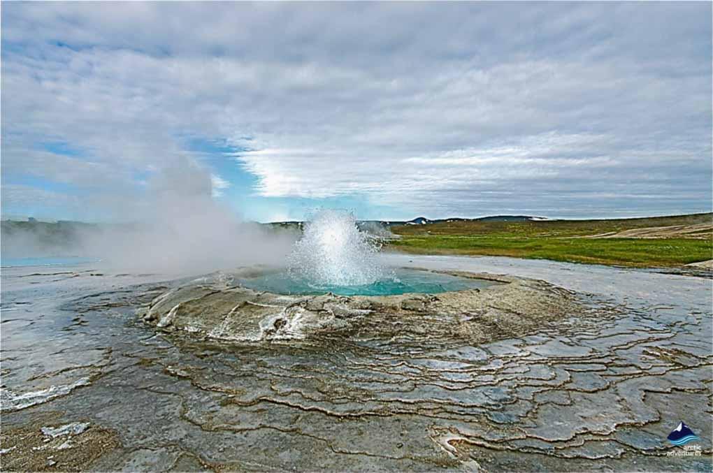 Hveravellir in Iceland in Summer