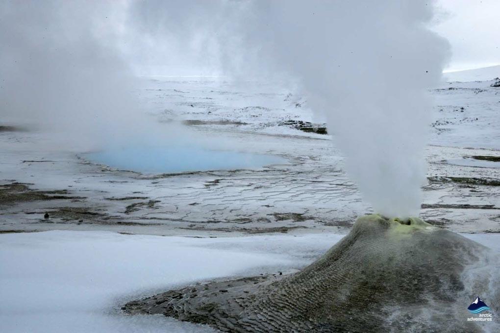 Hveravellir geyser Iceland