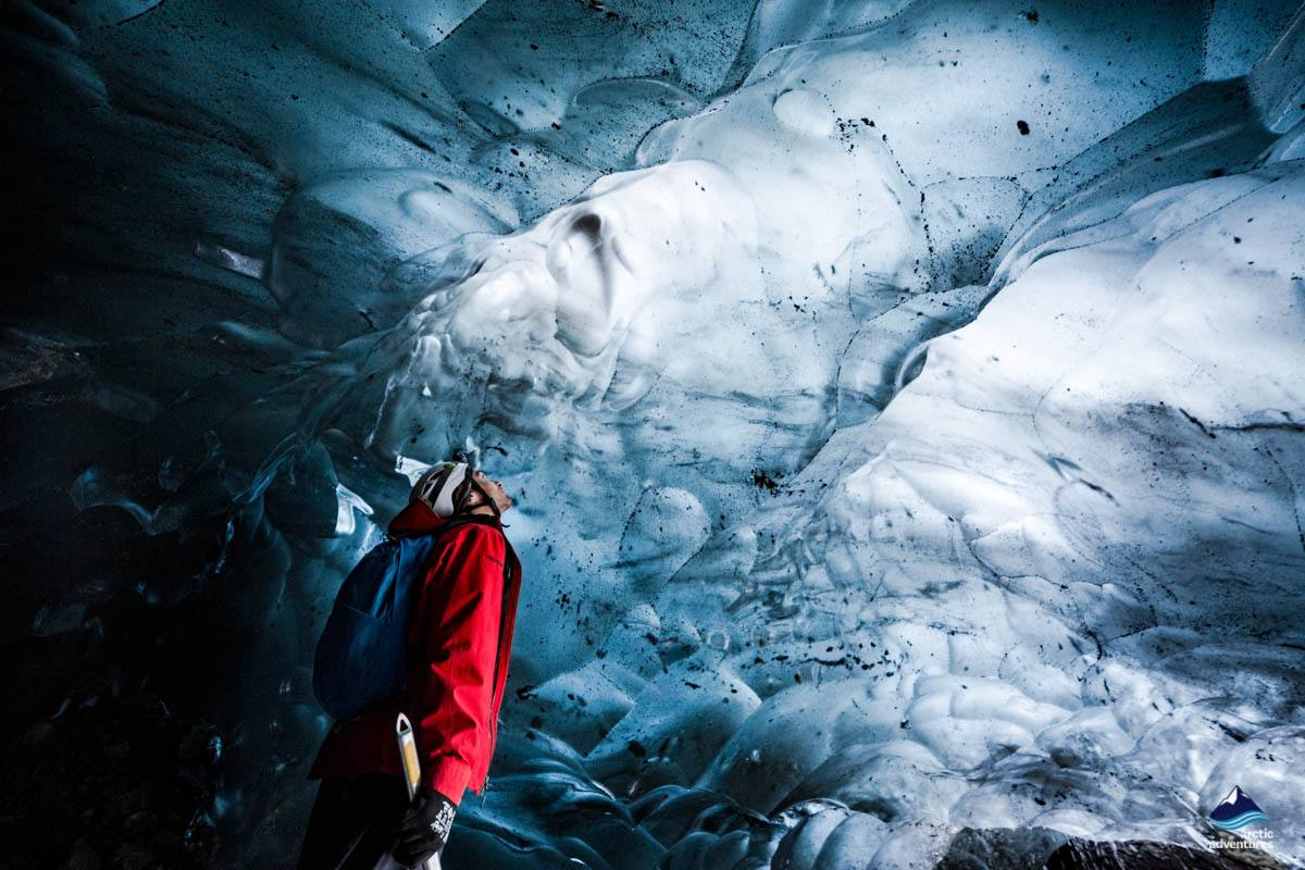 Ice Cave at Skaftafell National Park