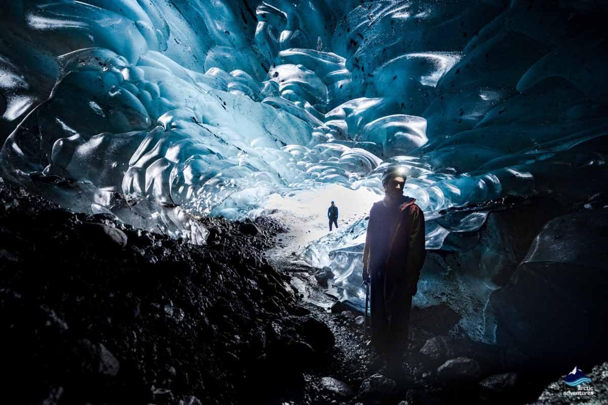 Ice Cave in Skaftafellsjokull Glacier