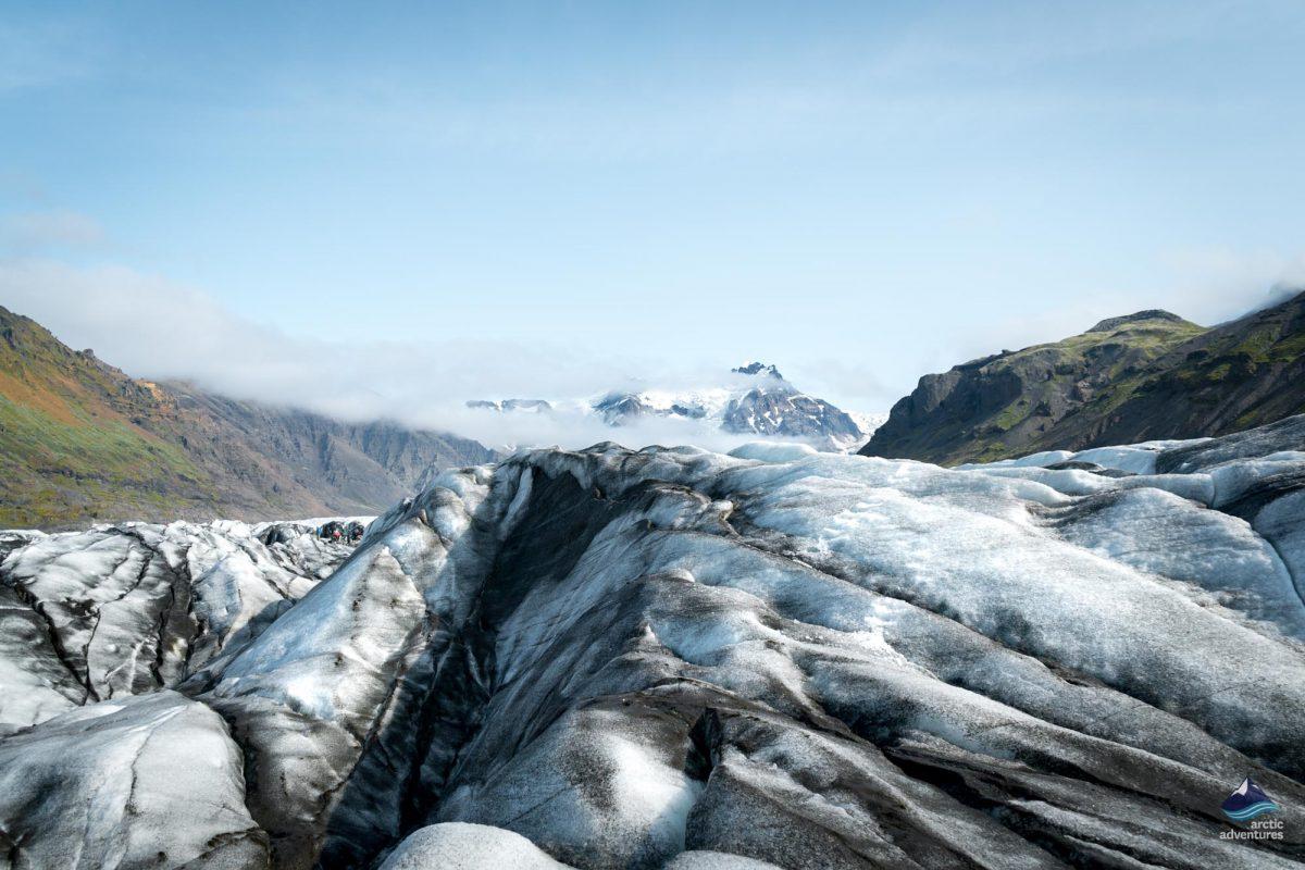 Glacier hike at Svinafellsjokull, Iceland