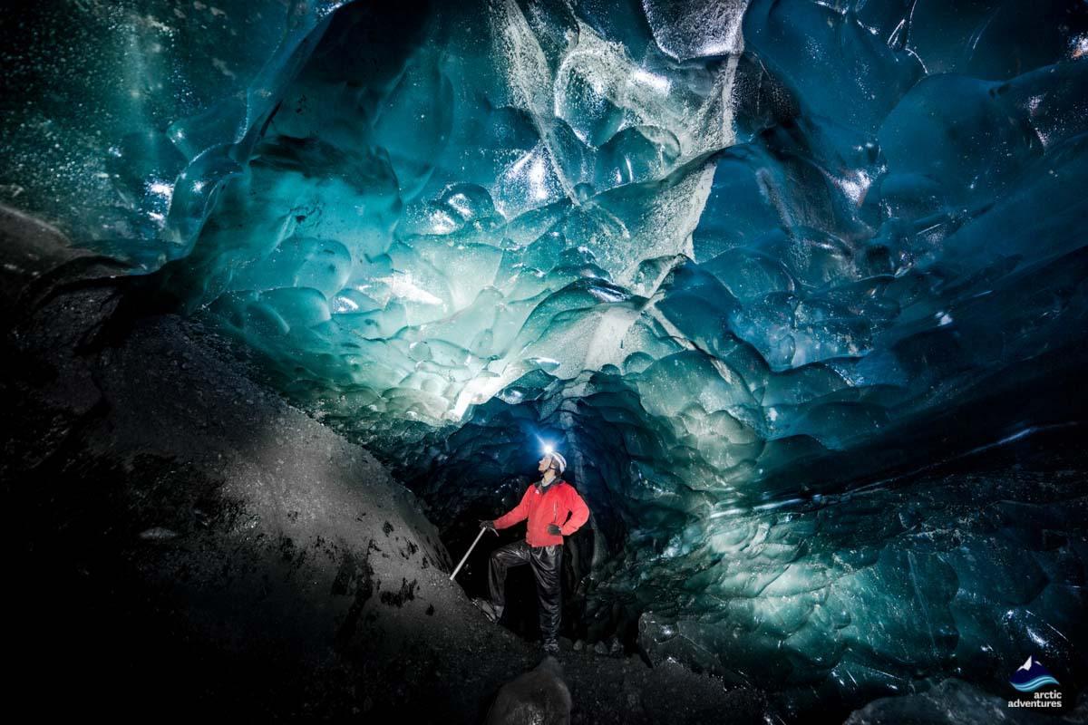 Skaftafellsjokull Glacier Ice Cave