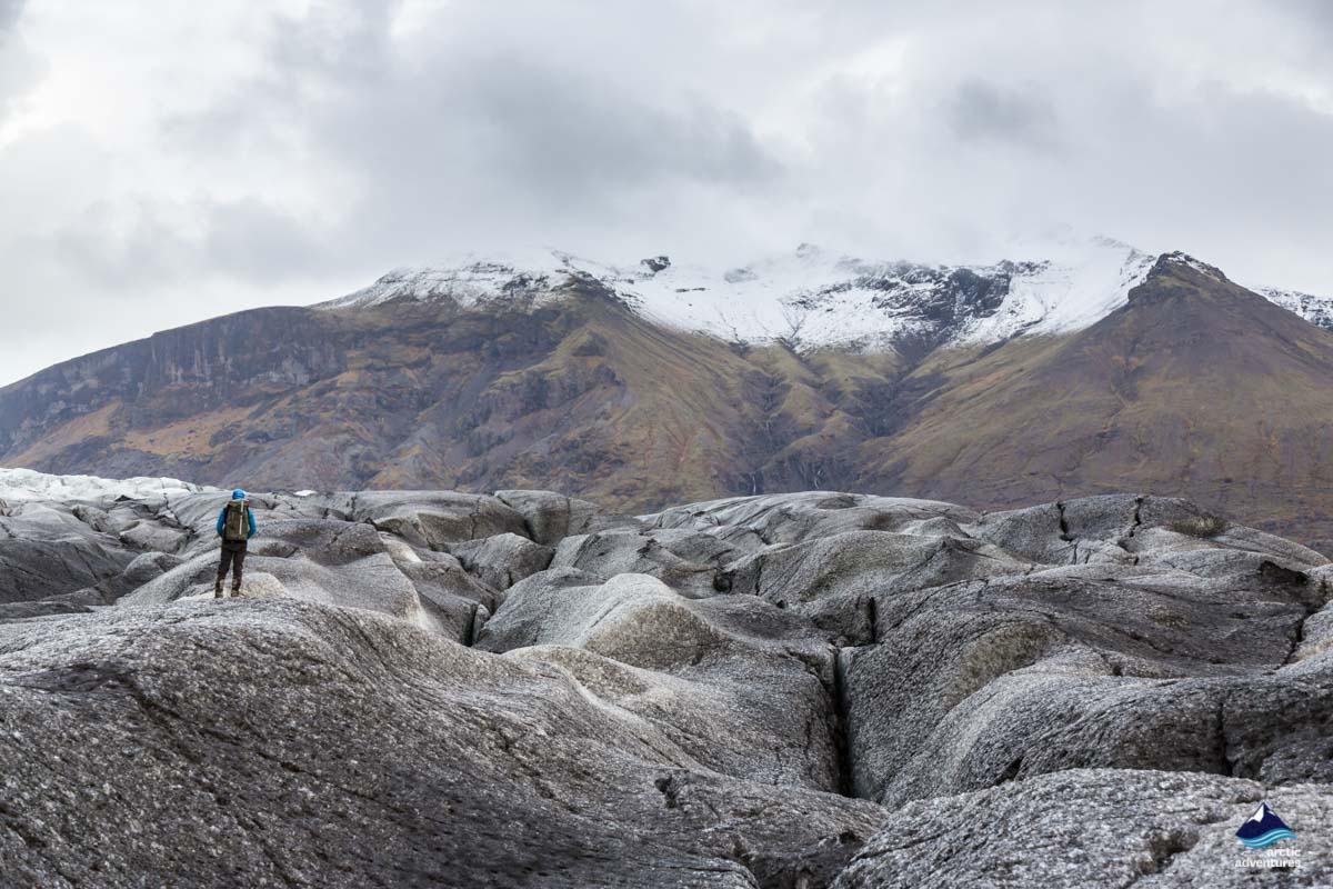 Skaftafellsjokull Glacier in Iceland
