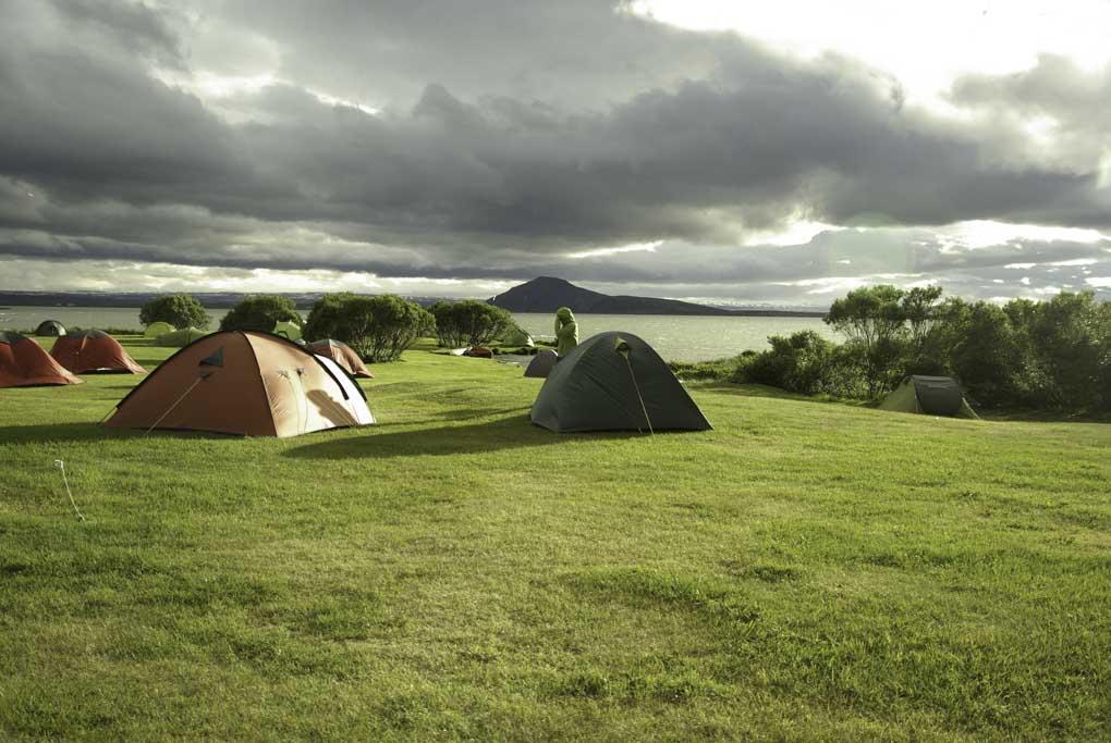 Camping at Myvatn