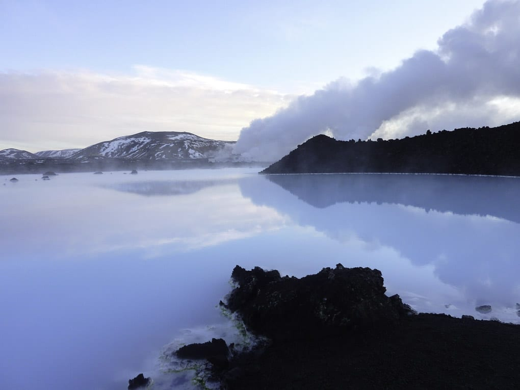 Winter at the Blue Lagoon