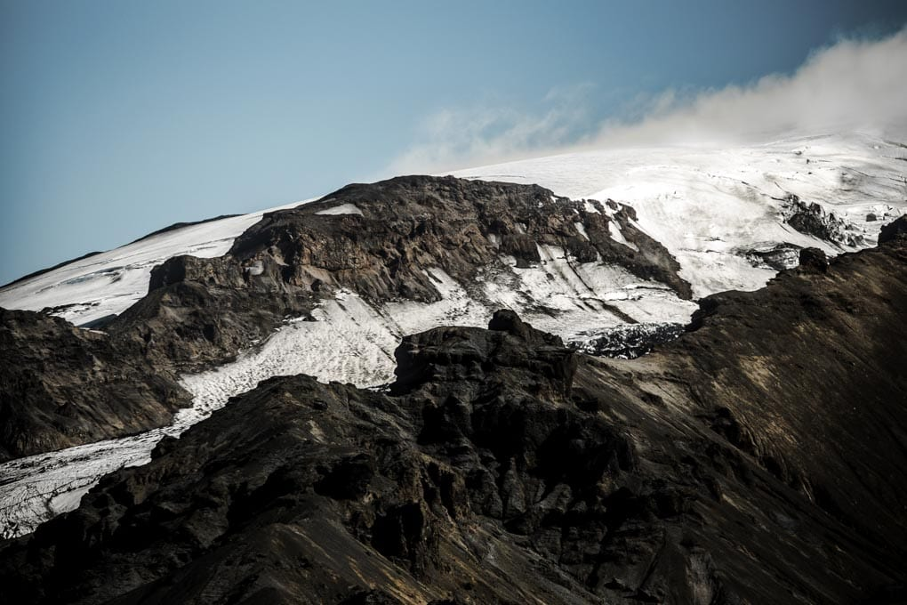 Fimmvorduhals mountains
