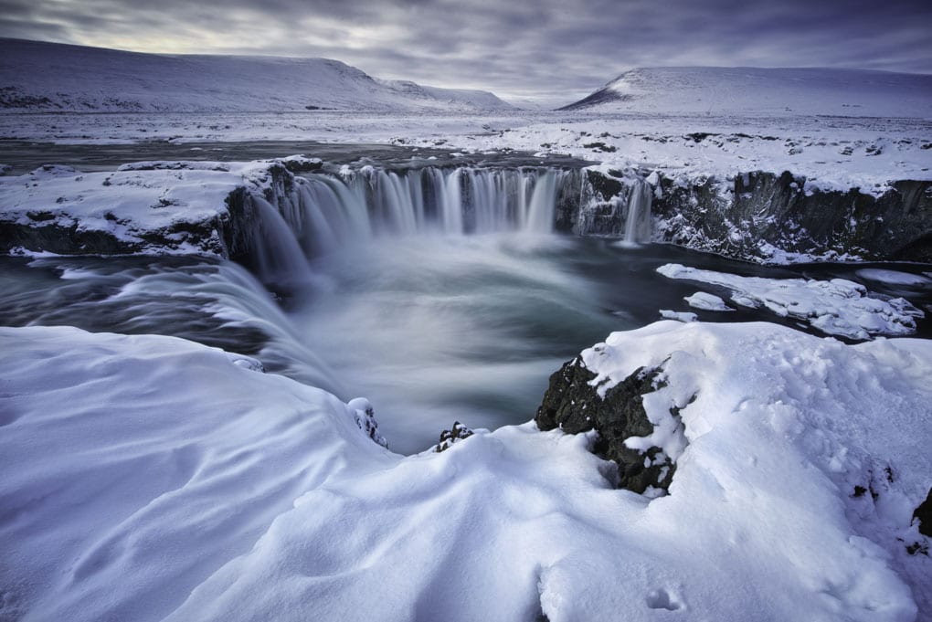 Wintertime at Godafoss