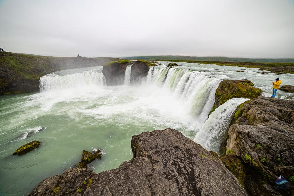 Godafoss in summertime