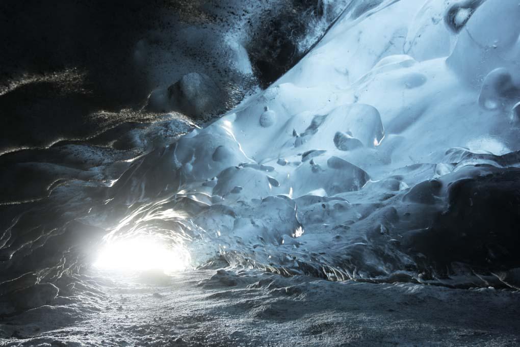 Vatnajokull Ice Caving tour with Skidoo