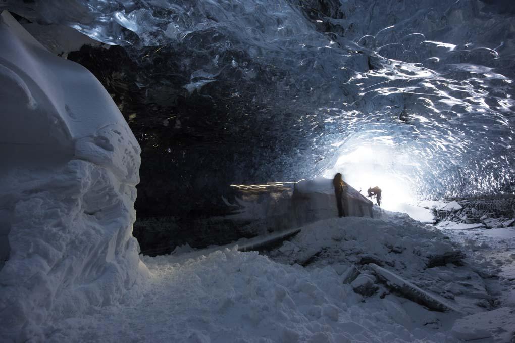 Ice Tunnel in Vatnajokull