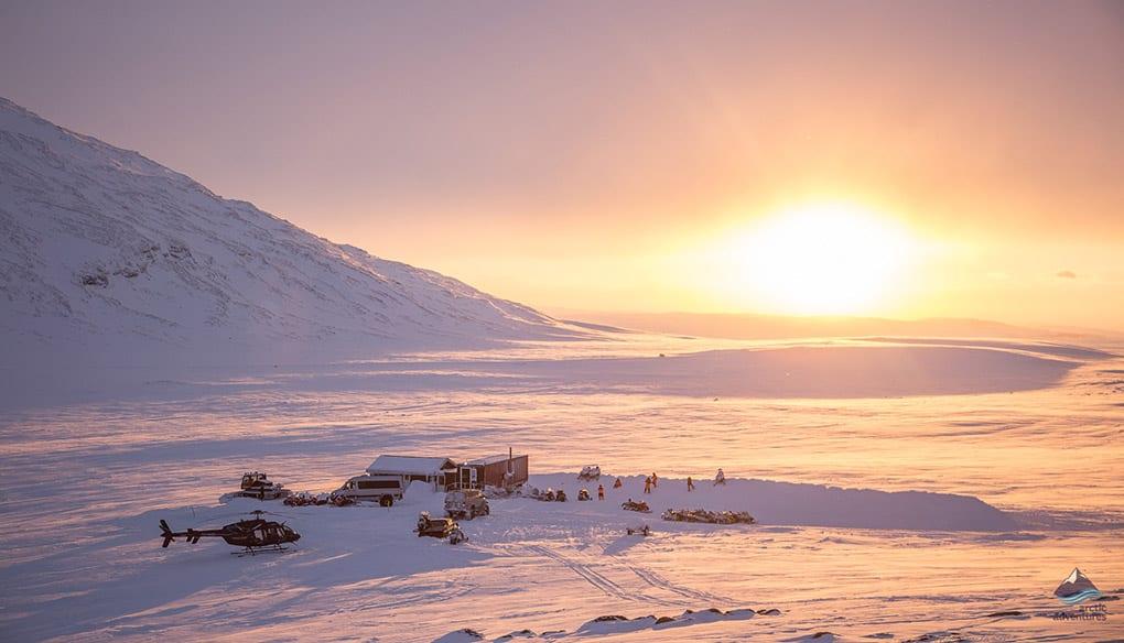 Langjokull Glacier Cabin