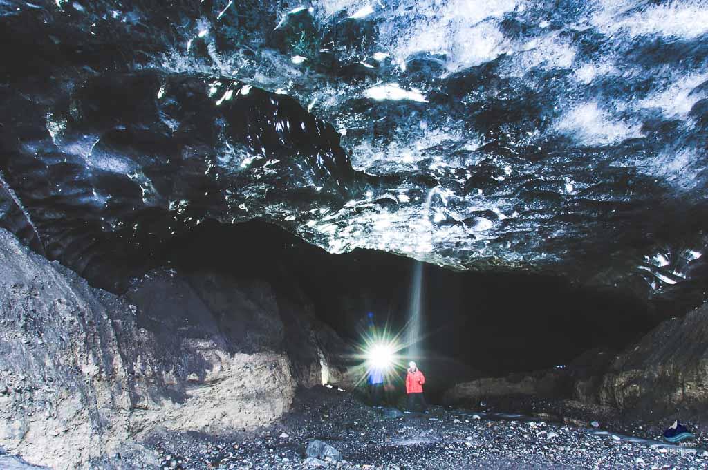 冰岛瓦特纳蓝冰洞