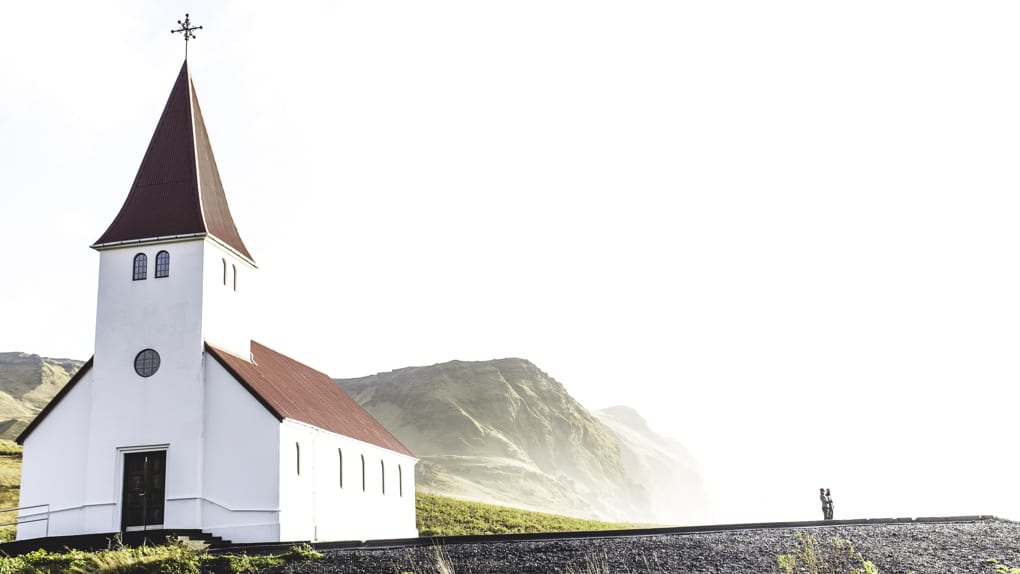 Vík Village Church Iceland