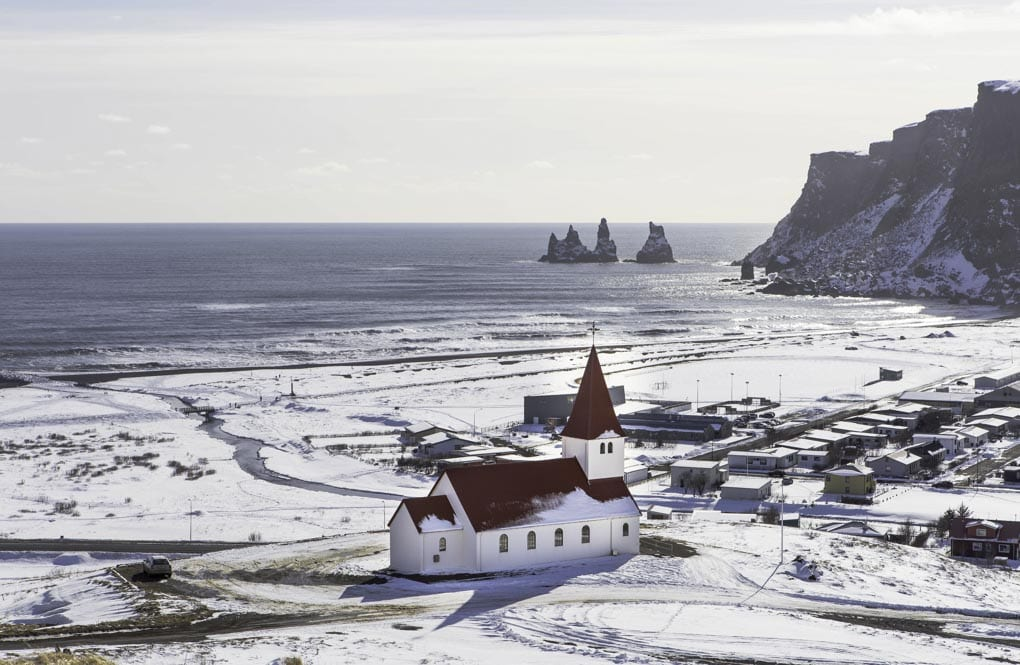Winter at Vik Village