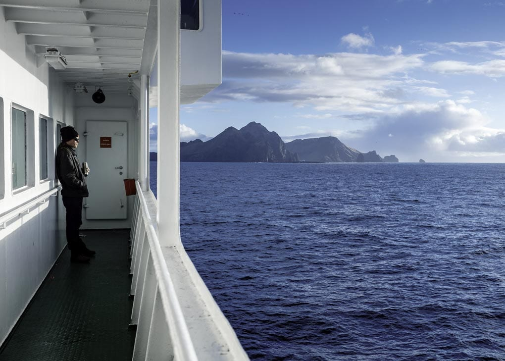 Ferry to Westman Islands