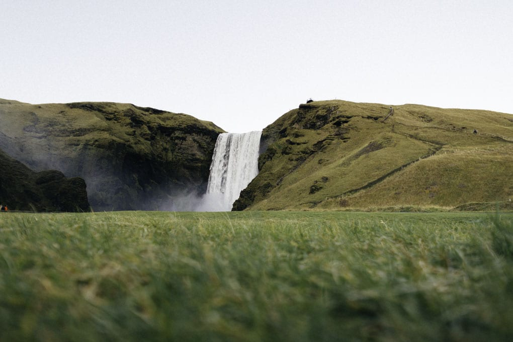 Skogafoss in Summer
